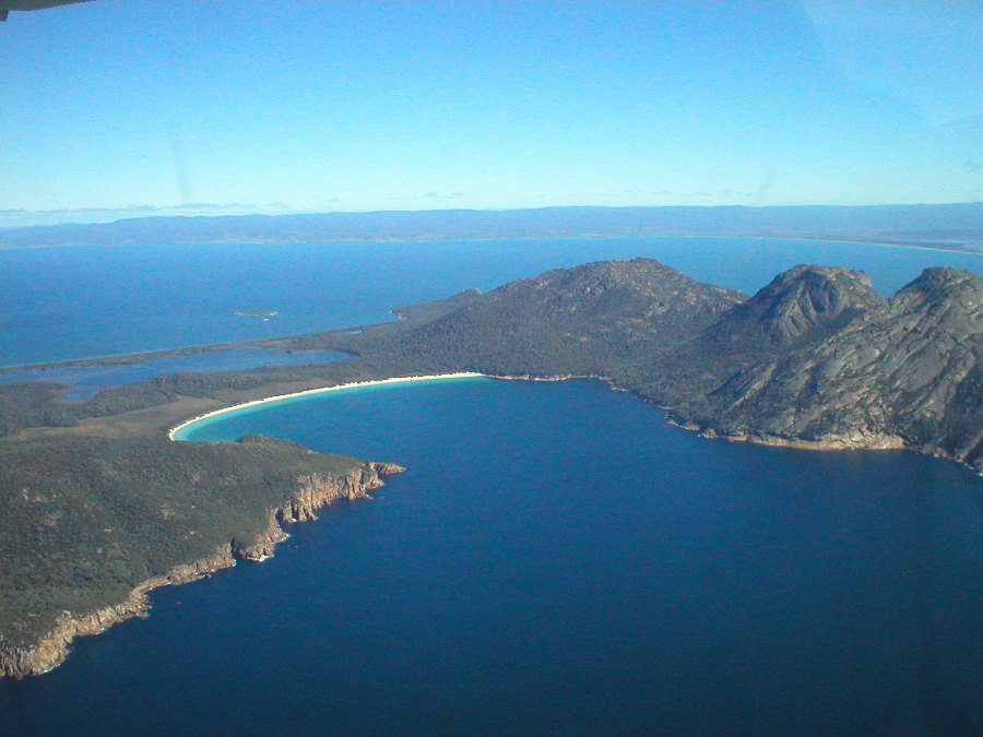 wineglass bay from the air pelican bay bed breakfast. Black Bedroom Furniture Sets. Home Design Ideas